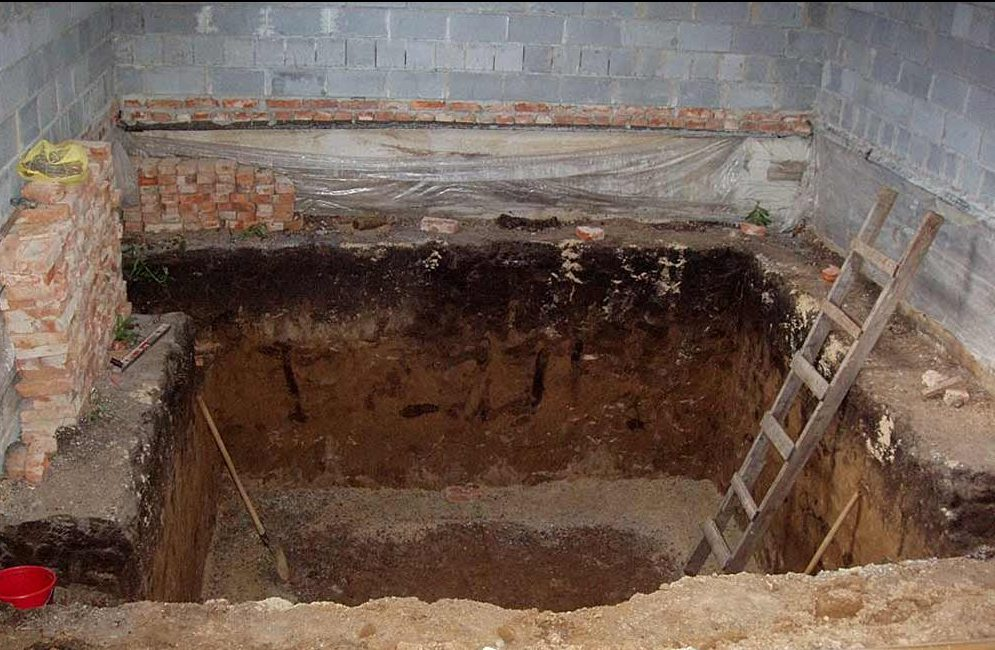 яма под камин