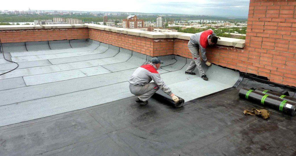 рулонная гидроизоляция крыши