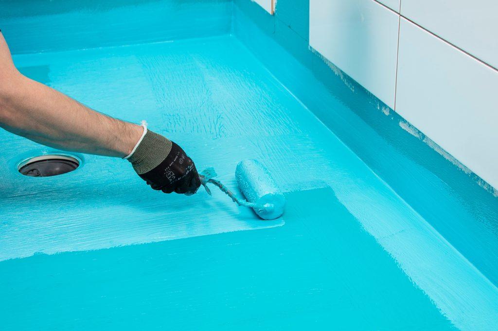 гдроизоляция ванной