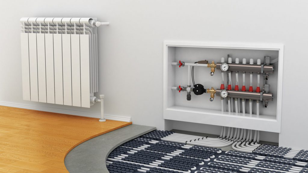 отопление в монолитном доме