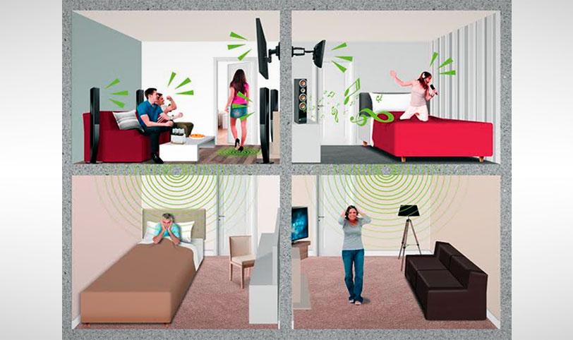плохая шумоизоляция в панельном доме